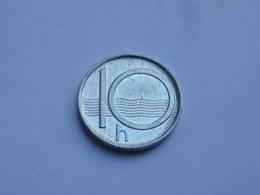 Tchequie 10 Haleru  1996 B  Aluminium  Km#6   TTB ++ - Tchéquie