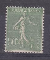 France Année 1924-1932 Type Semeuse Lignée N° 198** 50 C Olive Lot 1181 - 1903-60 Semeuse Lignée