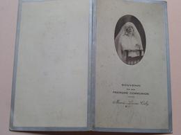 Souvenir De Ma Premiere Communion De Marie-Louise CABY ( DINER ) Le 6 Mai 1931 > Zie Foto's ( Pap. Dubourg Rouen ) ! - Menus