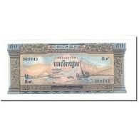 Billet, Cambodge, 50 Riels, UNDATED (1956-75), KM:7a, NEUF - Cambodge
