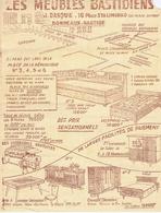 Les Meubles BASTIDIENS - J. DASQUE - 10 Place De Stalingrad - BORDEAUX-BASTIDE - Werbung