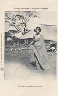 CPA ( Congo Français)  Haut Oubangui Coiffure Et Type De Femme  Bandjia( Parfait Etat) - Französisch-Kongo - Sonstige