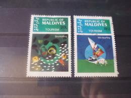 MALDIVES YVERT N°962.963 - Maldives (1965-...)