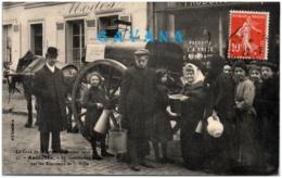 92 ASNIERES - La Distribution De L'eau Par Les Tonneaux De La Ville - Asnieres Sur Seine