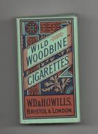 ETUI DE 10 CIGARETTES VIDE - WILD WOODBINE - W.D. & H.O.WILLS - BRISTOL & LONDON - Boites D'allumettes - Etiquettes
