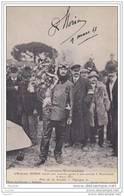 Toulouse - Montauban - L´ Aviateur Morin Reçoit Une Superbe Gerbe à Son Arrivée à Montauban 9 Mars 1911 - Prix  Ep - Montauban