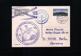 Germany / Deutschland 1995 Polar Ship Polarstern - German Antarctic Project  Interesting Cover - Expéditions Antarctiques