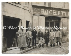 MAISON ROCHETTE VENTES ET ACHATS DE PORTES FENETRES - MAGASIN DEVANTURE - PHOTO 15.5 X 12 CM - Métiers