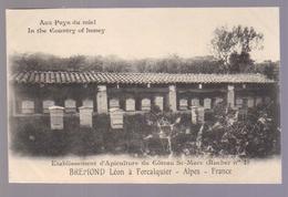 Cpa Du 04-FORCALQUIER-Apiculture Du Coteau St Marc Etablissement BREMOND Léon - Forcalquier