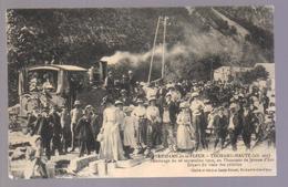 Cpa Du 04-THORAME HAUTE,Pélerinage Du 26 Septembre 1909 à NOTRE DAME De La FLEUR - Francia