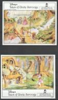 GRENADINES Of ST VINCENT - 2 BLOCS  N°89/90 ** (1992) WALT DISNEY - - Disney