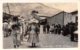 Bolivie - Ethnic H / 37 - Bailarines - Mina Milluni - Bolivie