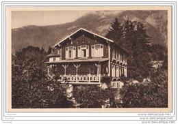 38) LA TRONCHE (Isère)  Le Chalet Sainte Thérèse - Le Nid Des Enfants (de 3 à 6 Ans) Tél: Grenoble 25 - 04 - Autres Communes