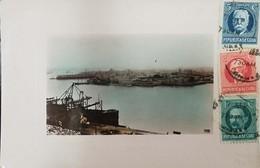 O) 1926 CIRCA- CUBA-CARIBBEAN. SPANISH ANTILLES, MALECON AND CASTILLO DEL MORRO - PORT-OLD BOAT, LANDSCAPE , CALIXTO GAR - Postcards