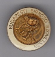 Pin Badge Budapest Wrestling Association Federation - Lotta