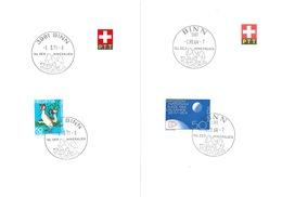"ET Werbedatumstempel  ""Binn - Tal Der Mineralien""         1964 / 71 - Suisse"