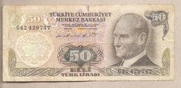 Turchia - Banconota Circolata Da 50 Lire P-188a.1 - 1976 - Turchia
