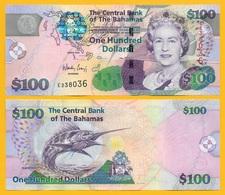 Bahamas 100 Dollars P-76 2009 UNC - Bahamas