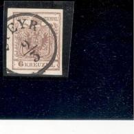 Austria1850:  Michel 4yIII Used - Gebraucht