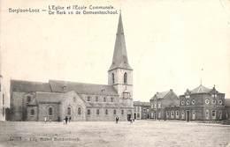Borgloon-Looz - De Kerk En De Gemeenteschool (UItg. Michel Berckenbosch, Feldpost 1914) - Borgloon