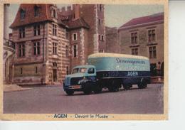 AGEN - Devant Le Musée ( Camion De Déménagement DUBOUIL )  PRIX FIXE - Transporter & LKW