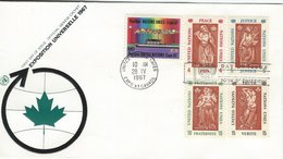 Expo 67 Canada - United Nations.  H- 1279 - 1967 – Montreal (Canada)