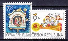 ** Tchéque République 2005 Mi 454-5, (MNH) - Czech Republic