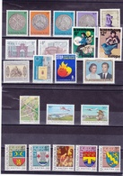LUXEMBOURG 1981 Années Complètes  Yvert  972-995 + BF 13 NEUF** MNH - Luxembourg