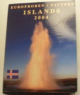 2004 - Islande - Islands - Essai EURO - Europroben / Pattern - UNC - EURO