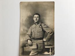AK Photo Franzosische Soldat Miltaire Francais Uniform 149 Photo Maillet Epinal - Guerre 1914-18