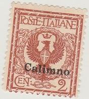 Egée Calimno N° 1 2c Rouge Brun - Ohne Zuordnung