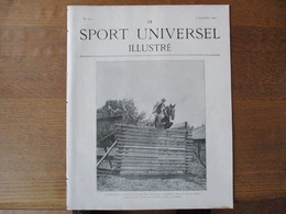 LE SPORT UNIVERSEL ILLUSTRE N°333 7 DECEMBRE 1902 LE HARAS DE MONTGEROULT,LES CHIENS DE TRAIT,VISITE SALLE BAUDRY ESCRIM - Libri, Riviste, Fumetti