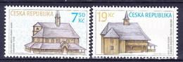 ** Tchéque République 2006 Mi 489-90, (MNH) - Czech Republic