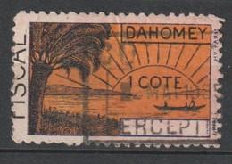 DAHOMEY - TIMBRE FISCAL - - Dahomey (1899-1944)