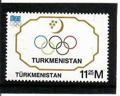 Turkmenistan. 1994  IOC - 100. 1v: 11.25  . Michel # 47 - Turkménistan