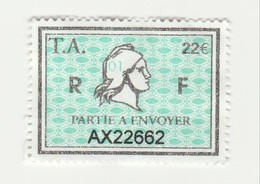 Série Timbres Fiscaux -  2 Timbres Amende Millésime 01 - Revenue Stamps