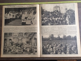 ANNEE 20/30 PROCESSION EUCHARISTIQUE DE WAMBRECHIES - Old Paper