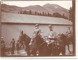 Photo  12 X 9 Cm     Tirage Argentique     Vers 1890     Soldats  (5) - Guerre, Militaire