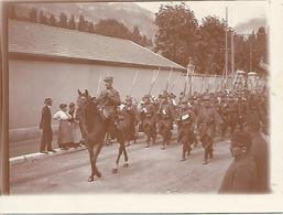 Photo  12 X 9 Cm     Tirage Argentique     Vers 1890     Soldats  (7) - Guerre, Militaire