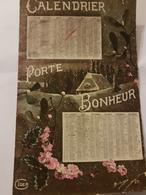 CPA CALENDRIER 1917 PORTE BONHEUR - Calendriers