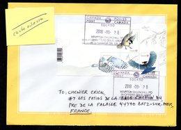 CANADA Enveloppe Cover 28 08 2018 Oiseau Bird - 1952-.... Règne D'Elizabeth II