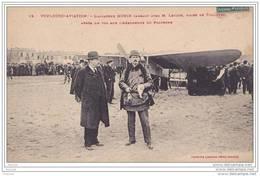 Toulouse  Aviation.- L'Aviateur MORIN Causant Avec M. Leygue ,Maire De Toulouse - Aprés Un Vol Sur L'Aérodrome  Polygone - Toulouse