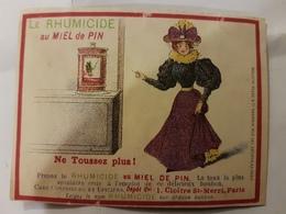 CALENDRIER 1896 BONBONS JOHN TAVERNIER RHUMICIDE - Petit Format : ...-1900