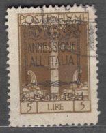 Fiume 1924 Sassone#225 Michel#179 Used - Fiume