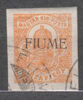 Fiume 1918 Newspaper Stamp, Gionali Sassone#1 Michel#1 Used - 8. WW I Occupation