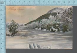CPA -  Merry Xmas ,Winter View, Cover   Oxbow Saskatchewan, 1912 - Noël