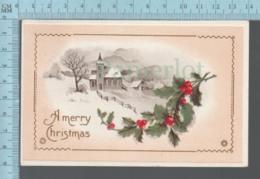 CPA - A Merry Christmas Gui Houx, Cover Saskatoon Saskatchewan, With Canada  Stamp # 89 - Noël