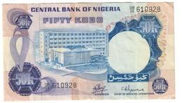Nigeria 50 Kobo 1973 - Nigeria