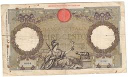 Italy 100 Lire 20/02/1941 - [ 1] …-1946 : Regno