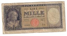 Italy 1000 Lire 20/03/1947 Testina - 1000 Lire
